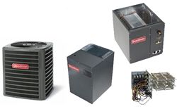 4 Ton Goodman 16 SEER Two Stage Heat Pump System GSZC160481A, Cased Coil, MBVC2000 Variable Speed, TXV