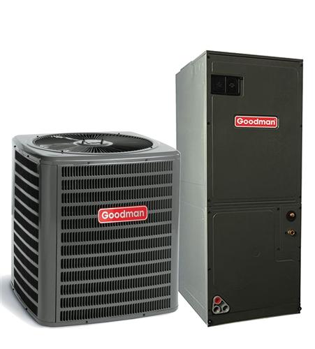 1 5 Ton Goodman 16 Seer Heat Pump Variable Speed System Gsz160181b Avptc29b14 Txv