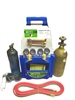 Torch welding kit complete with tanks (TradePro)