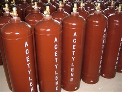 Acetylene Tank Purchase 10 Cubic Feet Empty