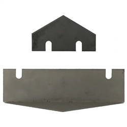 Amcraft Black Female Shiplap Replacement Blades