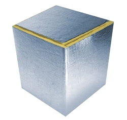 "Duct Board Return Plenum 2' Long, R4 1"", R6 1.5"", R8 2"""