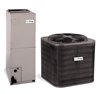 "1.5 Ton EcoTemp 15 SEER Central System WCA4184GKA, WAHL184B with 14.3"" Width Air Handler"