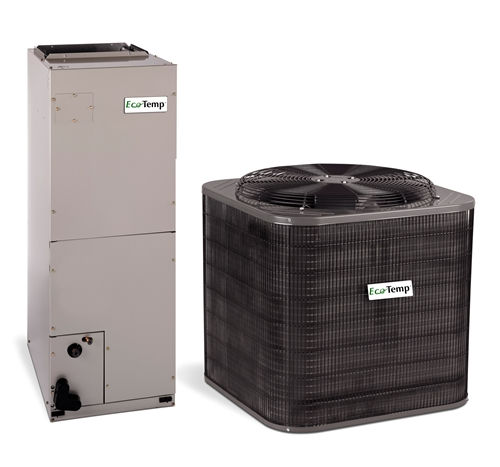 Ecotemp 1 5 Ton 14 5 Seer Heat Pump System Wch4184gkb Wahl244c