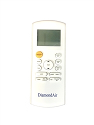Mini Split DiamondAir Replacement Remote 19+ SEER RG52F3, RG56, RG57A4