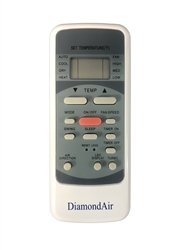 Mini Split DiamondAir Replacement Remote 15 SEER RG51M5/EU