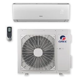 Mini Split 12,000 BTU GREE Livo 16 SEER Heat Pump System LIVS12HP230V1BO, LIVS12HP230V1BH WIFI Capable
