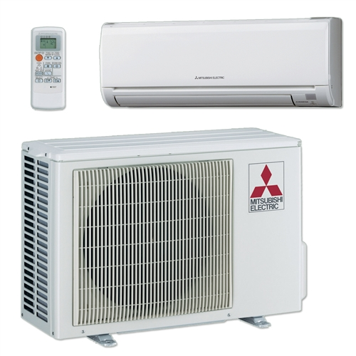 Mini Split 24 000 Btu Mitsubishi 20 5 Seer Heat Pump