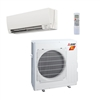 Mini Split 12,000 BTU Mitsubishi 26.1 SEER H2i Heat Pump System MUZFH12NA / MSZFH12NA (includes remote)