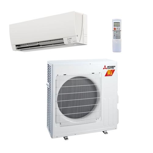 Mini Split 9,000 BTU Mitsubishi 30 5 SEER 'Hyper Heat' H2i Heat Pump System  MUZFH09NA1, MSZFH09NA