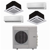 Mini Split Multi 4 Zone DiamondAir up to 22.5 SEER heat pump system DF36MZ4 x 4 Wall Mount or Ceiling Cassette