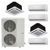 Mini Split Multi 5 Zone DiamondAir up to 22.4 SEER heat pump system DF48MZ5 x 5 Wall Mount or Ceiling Cassette