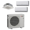 Mini Split Multi 3 Zone Mitsubishi up to 19 SEER heat pump system MXZ3C30NA2U1 x 3 Wall Mount or Ceiling Cassette