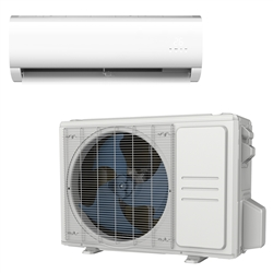 Mini Split 24,000 BTU DiamondAir 15 SEER heat pump system D1524HMSOF, D1524HMSIF