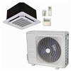 Mini Split 9,000 BTU DiamondAir Hyper Heat 20 SEER Heat Pump Ceiling Cassette System D2009SHO, DF2009CI