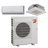 Mini Split Multi 2 Zone Mitsubishi H2i Hyper Heat up to 17 SEER Heat Pump System MXZ-2C20NAHZ2U1 x 2 Wall Mount or Ceiling Cassette