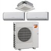Mini Split Multi 3 Zone Mitsubishi H2i Hyper Heat up to 18 SEER Heat Pump System MXZ-3C30NAHZ2 x 3 Wall Mount or Ceiling Cassette
