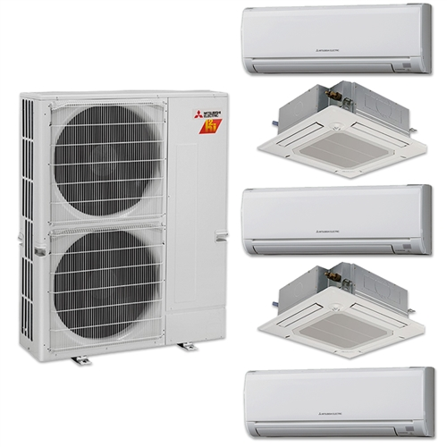Exceptional Mini Split Multi 5 Zone Mitsubishi H2i Hyper Heat Up To 19 SEER Heat Pump  System ...