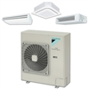 Mini Split 30,000 BTU Daikin SkyAir up to 17.2 SEER Heat Pump System RZQ30PVJU, Indoor Unit, BRC1E73 Controller