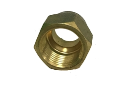 "5/8"" Mini Split Copper Tubing Flare Compression Nut Fitting"