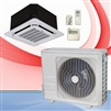 Mini Split 24,000 BTU DiamondAir SubZero Heat 20 SEER Heat Pump Ceiling Cassette System D2024SHO, DF2024CI