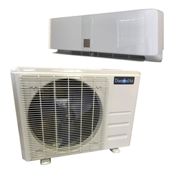 "Mini Split 24,000 BTU DiamondAir ""Do It Yourself"" 16 SEER Ductless Heat Pump System D1624DIYI, D1624DIYO (TX)"