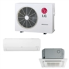Mini Split Multi 2 Zone LG up to 22 SEER Heat Pump System LMU18CHV x 2 Wall Mount or Ceiling Cassette