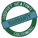 Warranty Parts For Equipment Purchased From Budget Heating