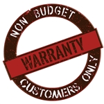 Warranty For Equipment Purchased From Companies Other Than Budget Heating: All Small Parts (control boards, heat strips, switches, etc.)