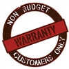 Warranty For Equipment Purchased From Companies Other Than Budget Heating: Motors, Blower Wheels, Heat Strips, Heat Exchangers