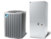 10 Ton Daikin Two-Stage Heat Pump System 3 Phase DZ11TA120, DAT1204