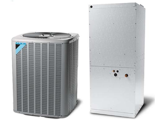 7.5 ton Daikin Split central air system 208/230V or 460V 3 Phase ...