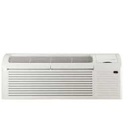 Gree PTAC 15,000 BTU Heat Pump Air Conditioner With 3.45kW Heater and 20amp power cord, ETAC215HP230VACP