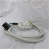Gree PTAC 15amp Power Cord with NEMA6-15P Plug E2CORD230V15A