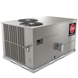 7.5 Ton Rheem Classic Plus 205K BTU Gas Package Unit 208/230V Three Phase 2 Stage Compressor, RGEDZS090ACB202AAAA0 (F)