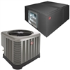 7.5 Ton Rheem Central Air Split System Three Phase RAWL-091, RHGL-090ZL
