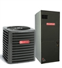 2 Ton Goodman 15 SEER Heat Pump System GSZ140241, AVPT29B14 Variable Speed