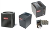 5 Ton Goodman 16 SEER Heat Pump System GSZ16060, MBVC2000 Variable Speed, Cased Coil, TXV