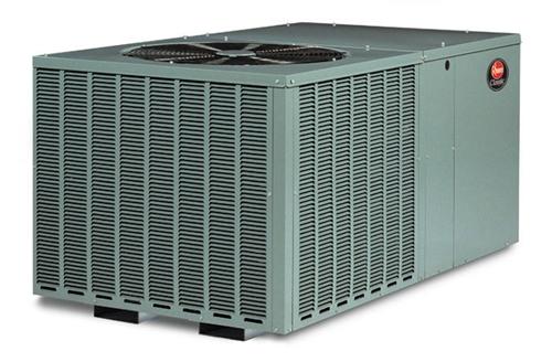 4 0 Ton Rheem 14 Seer Heat Pump R 410a Package Unit Rqpma049jk000aua