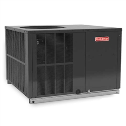 3 Ton Goodman 16 SEER Two Stage Compressor Heat Pump DOWN-FLOW or HORIZONTAL Package Unit GPH1636M41