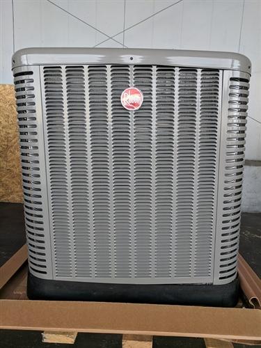 3 0 Ton Rheem 15 Seer R 410a Heat Pump Condenser Rp1536aj1na