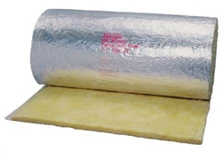 Duct Wrap R6 Foil Jacket 75' x 48""