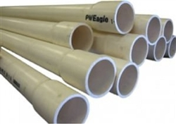 "PVC Pipe Schedule 40 3/4"" 10' Length, Bundle of 10, 100' Total"