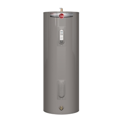 Rheem Electric Water Heater 40 Gallon Tall Size 240VAC Dual Element PROE40 T2 RH95