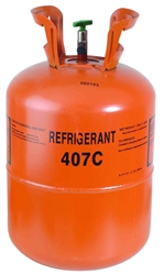 Freon R407C Refrigerant 25lb. Jug - R22 Replacement