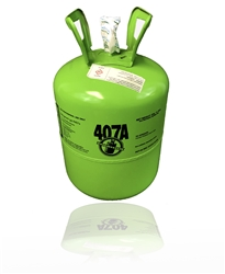 R407A Refrigerant 25lb. Jug - R22 Replacement Low/Med Temperature Applications (F)