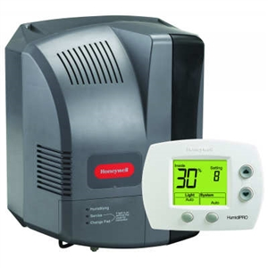 Honeywell Whole House Powered Humidifier With Humidistat, HE300A1005