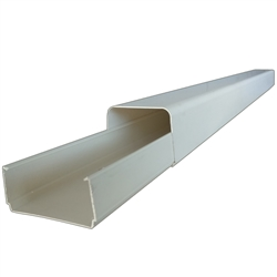 "PVC Line Cover & Base 3.25ft Section ""Canal Split"""