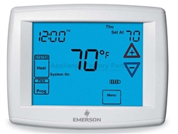 White Rodgers Programmable Heat Pump or Gas Touch Screen Thermostat  3H/2C 1F95-1277