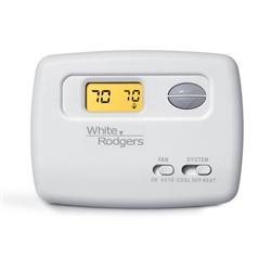 Thermostat White Rodgers 1F78-144 1H/1C Cool ONLY Non-Programmable (T)